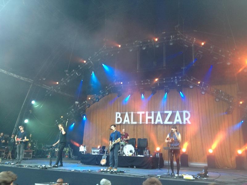 Balthazar à Rock En Seine 2013