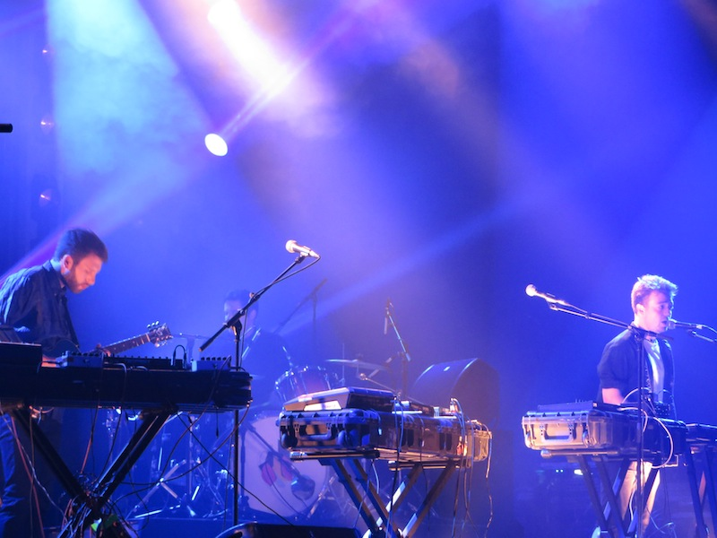 Mount Kimbie au Pitchfork Music Festival