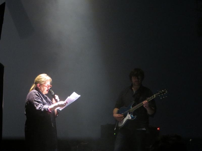 Michel Cloup Duo avec Françoise Lebrun et Pascal Bouaziz à la Gaîté lyrique